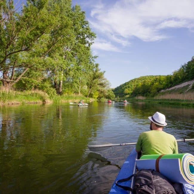 Река Тихая Сосна