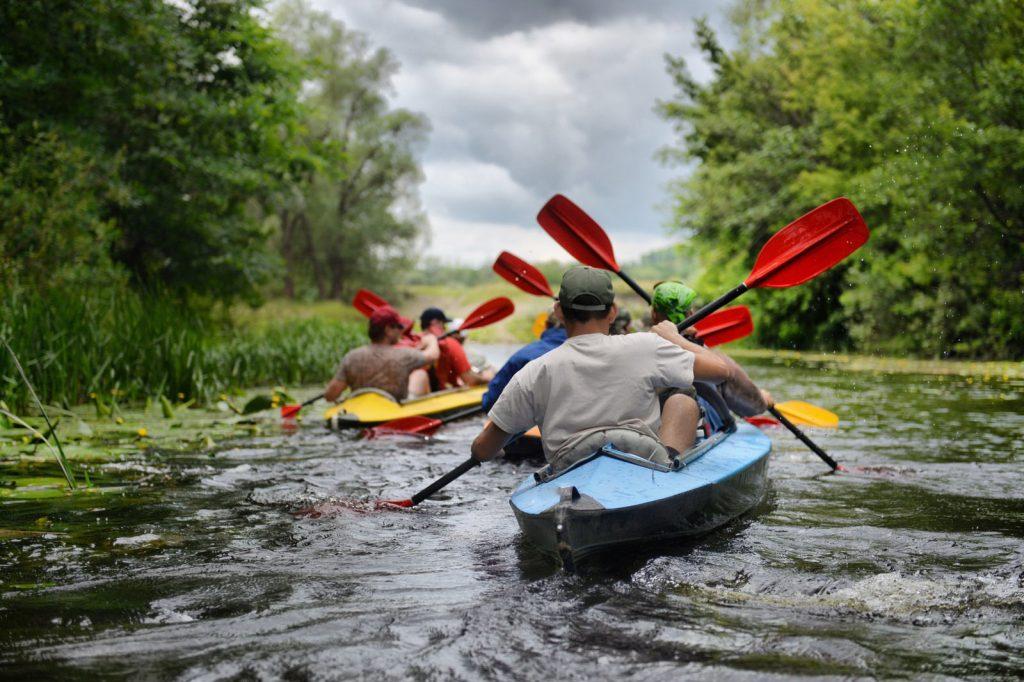 Правила безопасности при сплаве по реке
